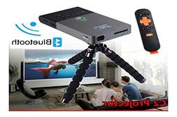 C2 Mini Portable Bluetooth DLP Home Theater Projector 1080P