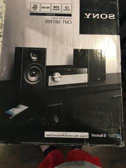 Sony CMT-SBT100 Wireless Home Audio System CD USB AM FM radi