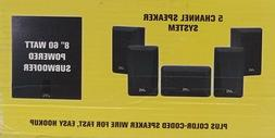 JVC Complete 5-Channel Digital Home Theater Sound System SX-