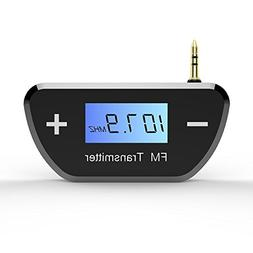 TNP FM Transmitters Wireless Radio AUX Adapter - Mini Univer