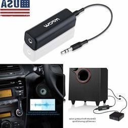 Mpow Ground Loop Noise Isolator Eliminate Home Car MP3 Audio