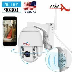 ANRAN 1080P HD Home Wireless Audio Security Camer Pan Tilt S