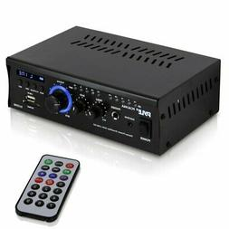 Home Audio Power Amplifier System - 2x120W Dual Channel Thea
