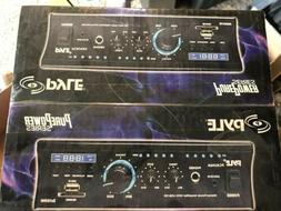 PYLE Home Audio Power Amplifier System - 2x120W Dual Channel
