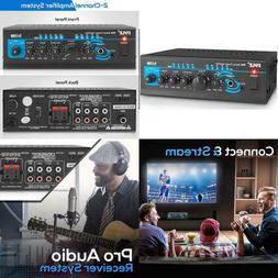 Home Audio Power Amplifier System - 2X120W Mini Dual Channel