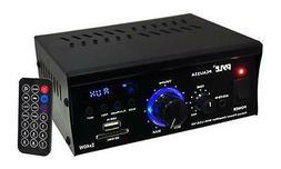 Home Audio Power Amplifier System - 2x40W Dual Channel Mini