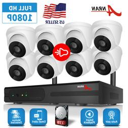 ANRAN Home Security Camera System Audio Wireless Outdoor 2TB