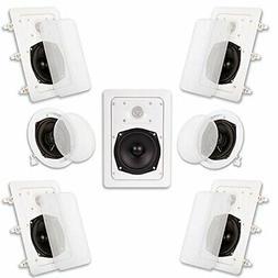 Acoustic Audio HT-57 In Wall In Ceiling 1400 Watt Home Theat