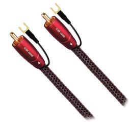 AudioQuest Irish Red Subwoofer Cable - 5m - RCAs