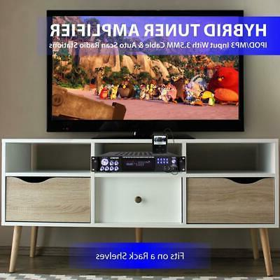 1000W AMP AM/FM STEREO HOME THEATER RECEIVER