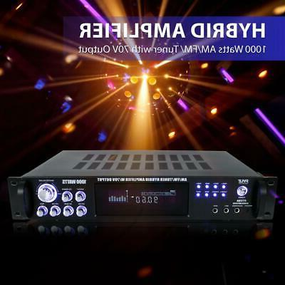 1000W AUDIO POWER AMP AMPLIFIER STEREO HOME RECEIVER SYSTEM