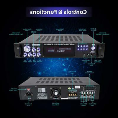 1000W HYBRID AMP HOME RECEIVER SYSTEM