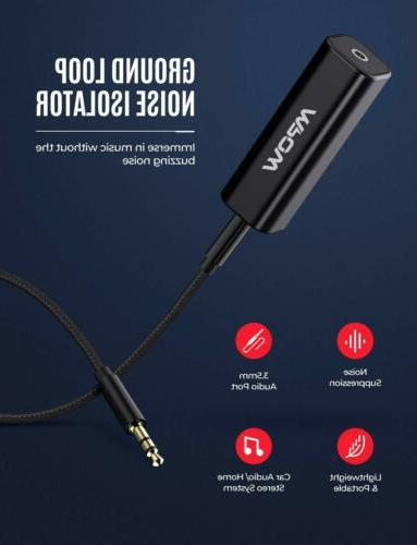 Mpow Ground Isolator Stereo System Cable
