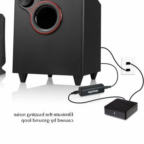 Mpow 3.5mm Ground Car Audio