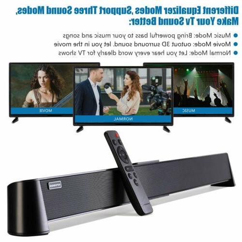 Powerful TV Theater Soundbar Sound Speaker System w/Subwoofer