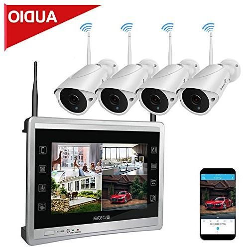 4ch wireless home security system