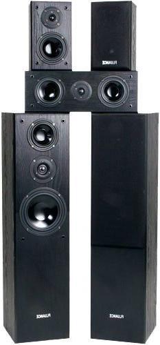 Fluance AVHTB Surround Sound Home Theater 5.0 Channel Speake
