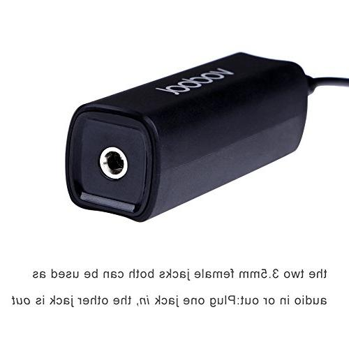 Ground Audio Isolator 3.5mm Interface System