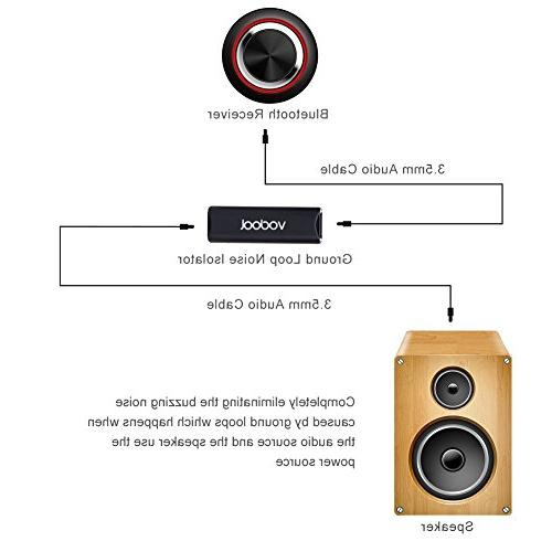 Ground Loop Audio Anti-jamming Device Isolator with Audio Interface for Car System