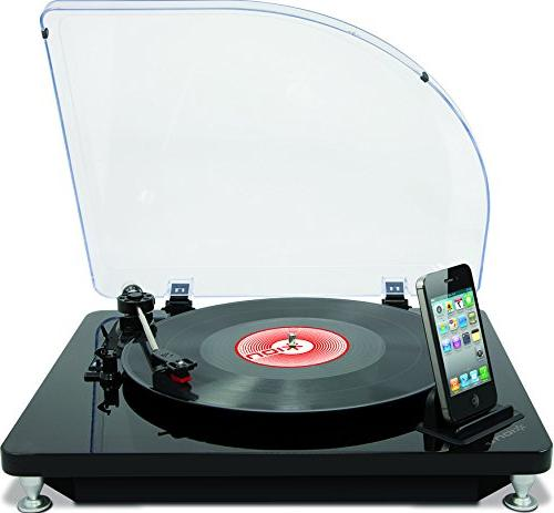 iPhone Ion iLP Digital Conversion Turntable for iPad and iPod Touch