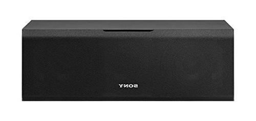 Sony SSCS8 2-Way 3-Driver Center Channel Speaker, Black