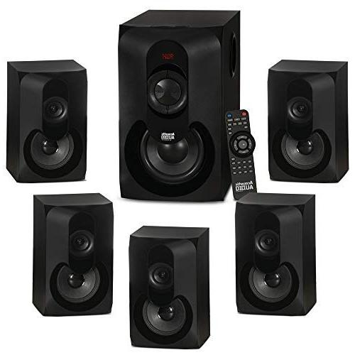 Acoustic Powered 5.1 Home Surround Sound