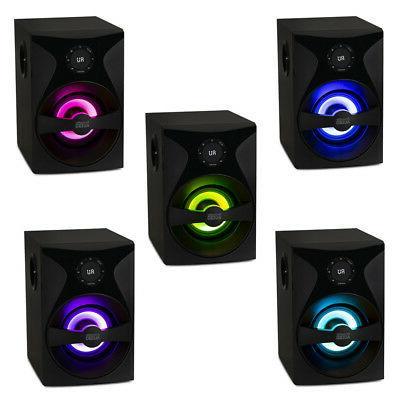 Acoustic Audio Bluetooth Speaker Sub Light Theater Set