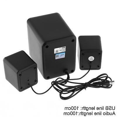 Acoustic Home 3 Channel System for Multimedia Laptop
