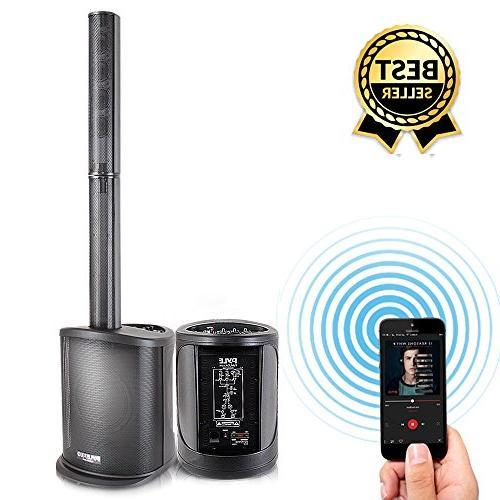 audio speaker tower amplifier