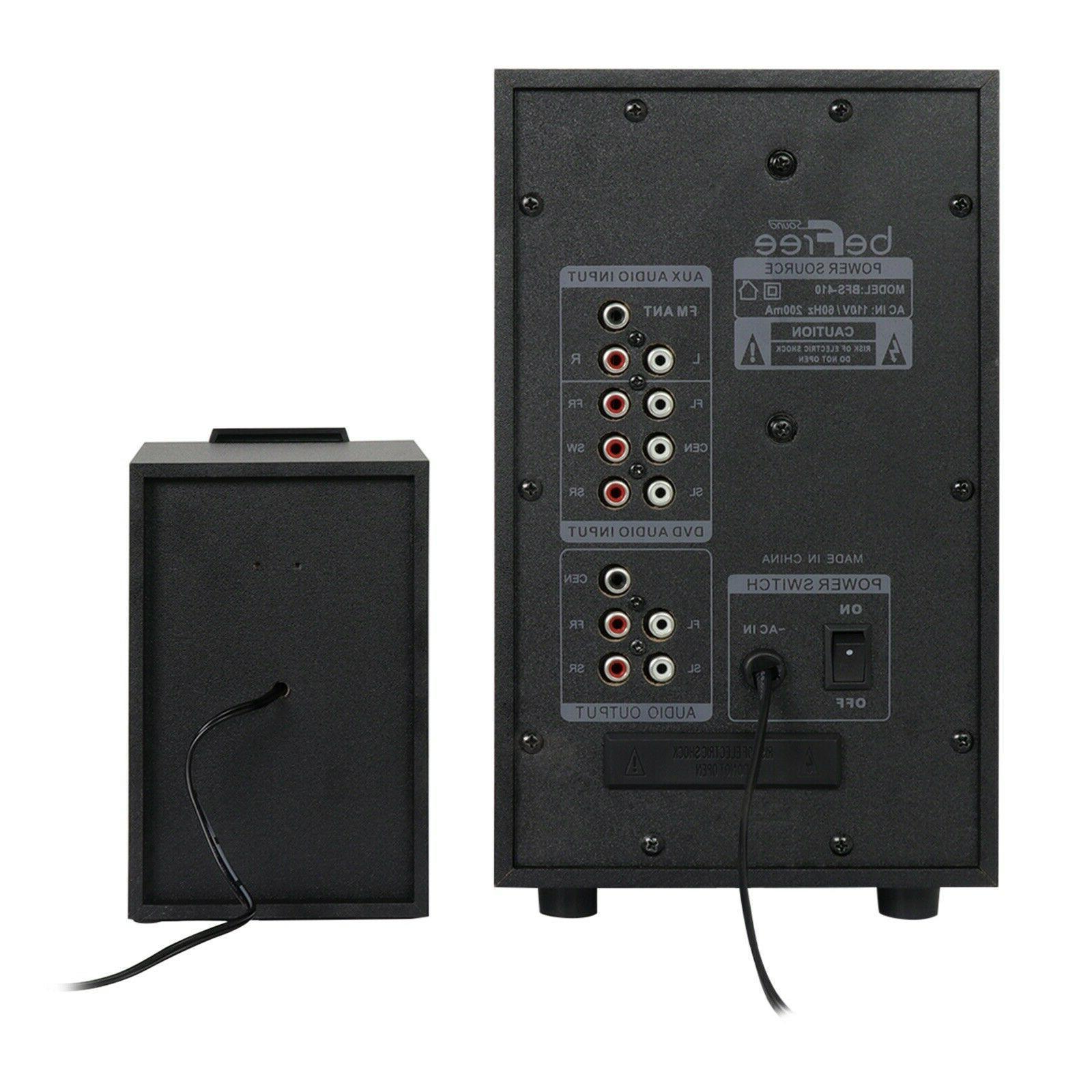 beFree Ch Sound Speaker w SD FM Radio