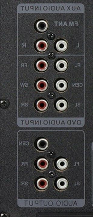 beFree 5.1 Ch Sound Speaker BFS-410 w FM Radio