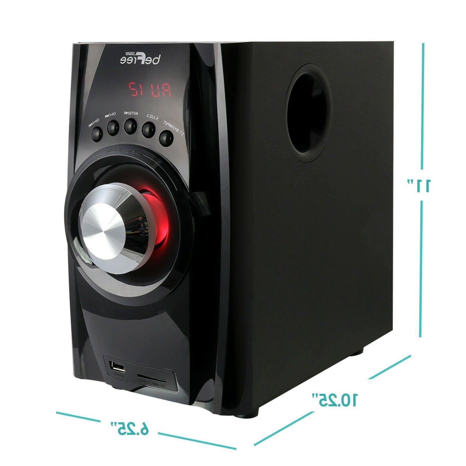 beFree Sound Speaker System w Bluetooth FM Radio
