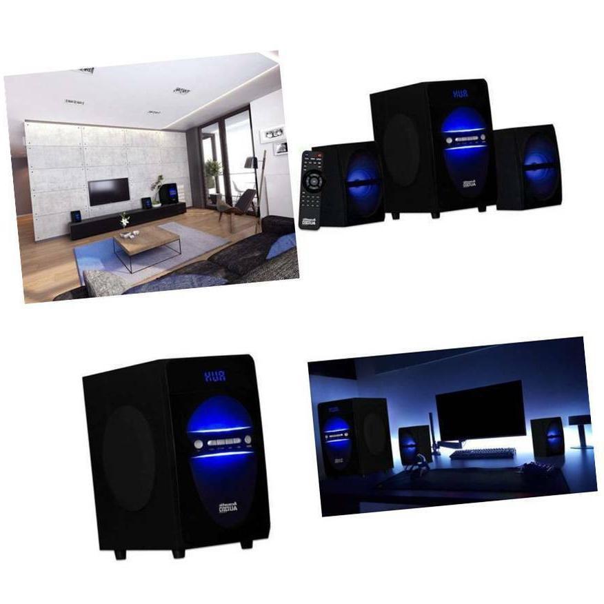 best stereo bass system home audio shelf