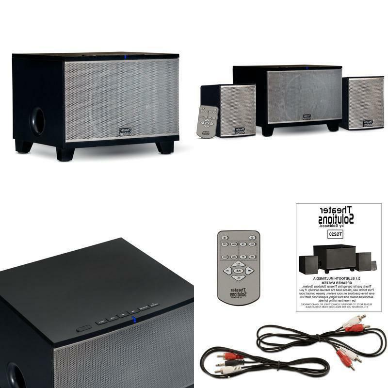 Best Stereo Bass System Home Audio Shelf Sound Speakers Wire