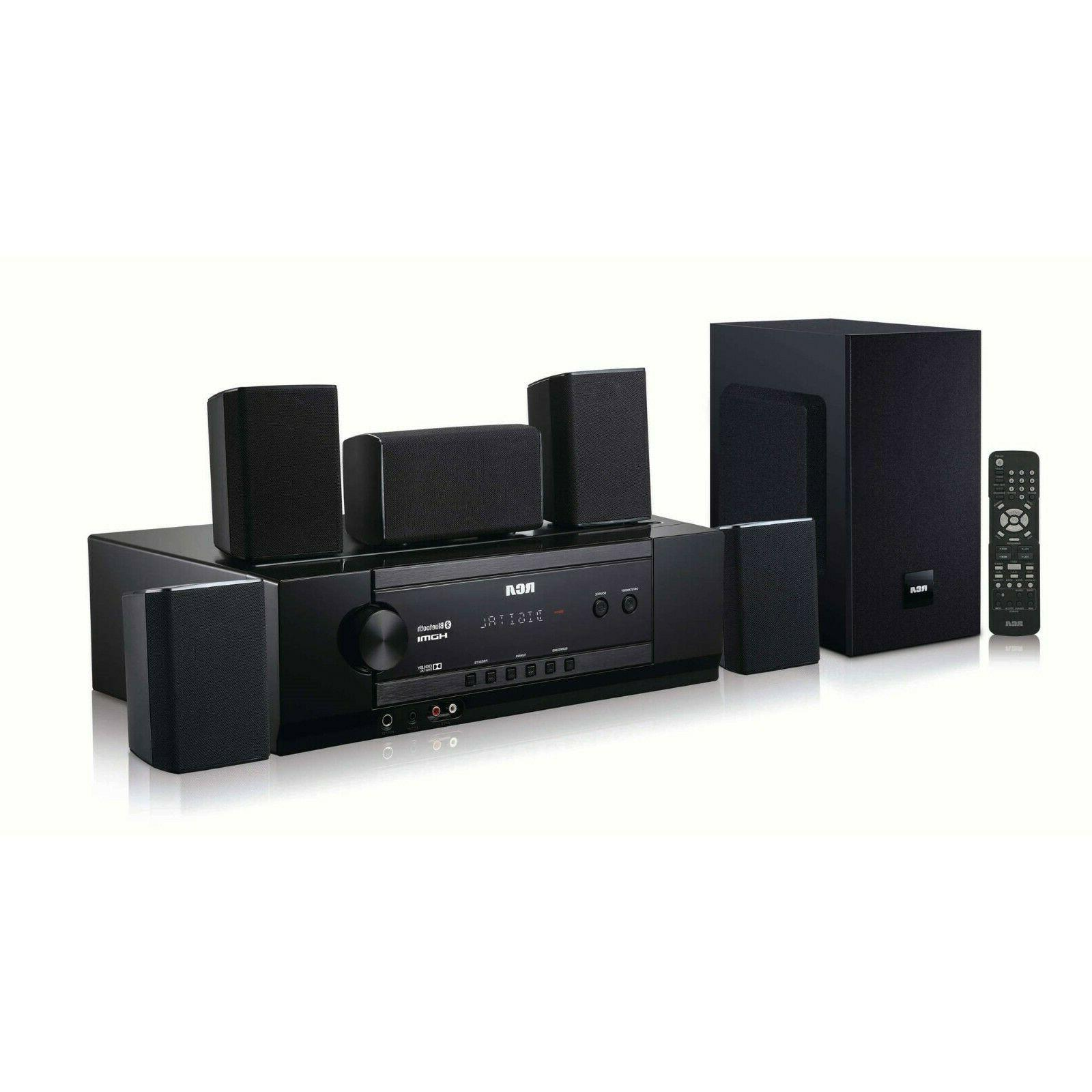 Home Theater System Surround Sound Speakers Bluetooth