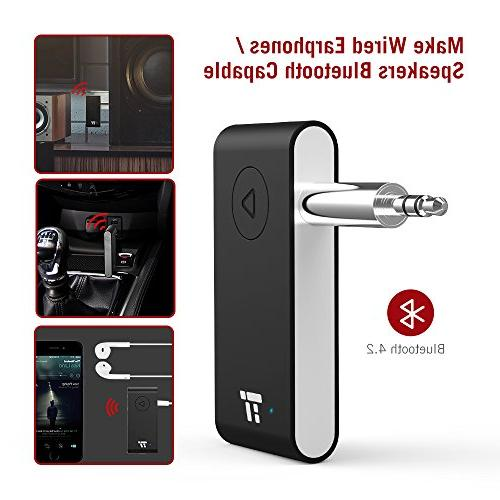 APTX 15 Bluetooth Car kit, Wireless Bluetooth Auto to