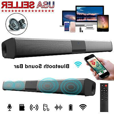 bluetooth soundbar tv home speaker system wireless