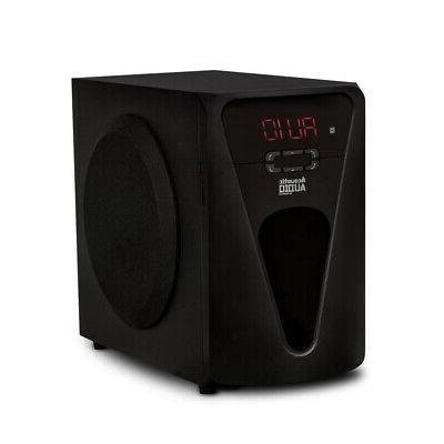 Acoustic 5.1 with Powered Subwoofer