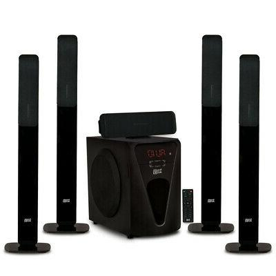 bluetooth tower 5 1 home speaker system