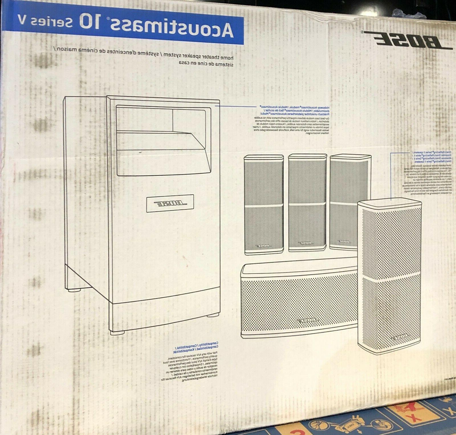 BrandNewSealed Bose Acoustimass 10 Series speaker