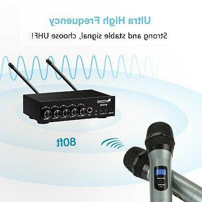 Fifine Dual Handheld UHF wirele