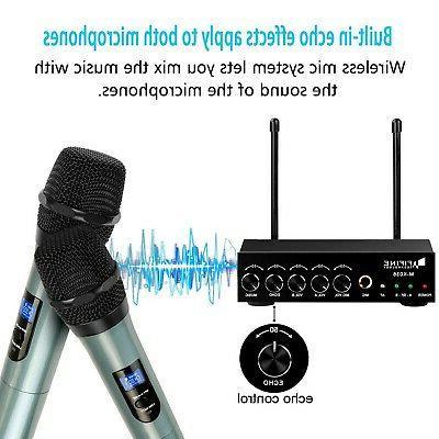 Handheld Microphone,easy-to-use handheld wirele