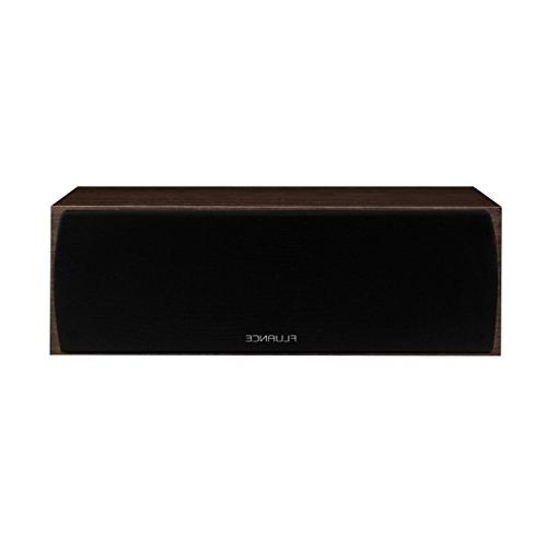 Fluance Elite Series Sound Home Channel Speaker Including Three-Way Floorstanding, Channel, Rear Surround Speakers and a Walnut