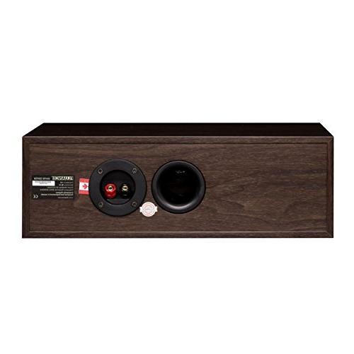Fluance Elite Surround Sound Home 5.1 Channel Speaker System Including Three-Way Floorstanding, Rear Speakers a - Walnut