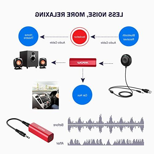 Mpow Ground Loop Stereo with 3.5mm Audio