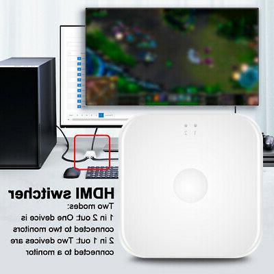 HD 4K Portable HDMI Video TV