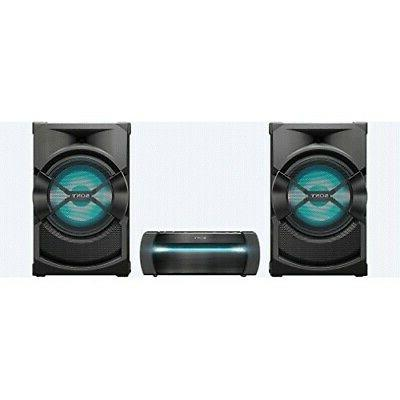 high power home audio system with bluetooth