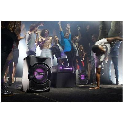 Sony Powered, DJ & Light Effects, Bluetooth Audio System