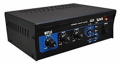 home audio power amplifier system 2x75w mini