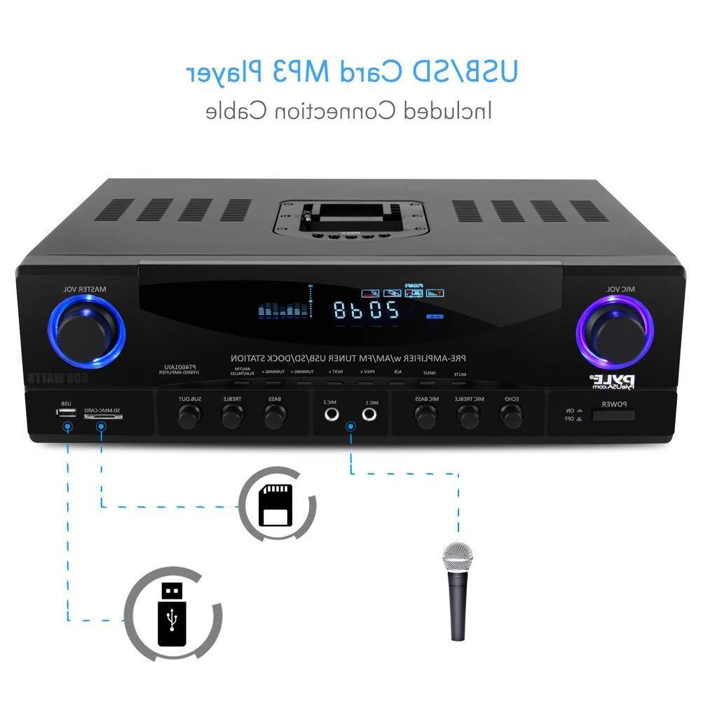 Home Power System - 4 Channel Theater Sound